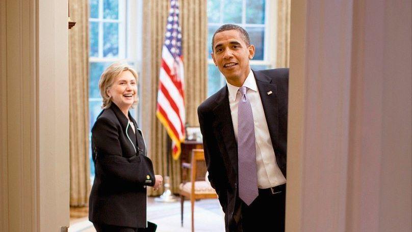 Außenministerin Clinton, Präsident Obama im Weißen Haus