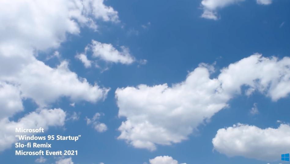 Screenshot aus Microsofts Werbevideo: Und jetzt gaaanz tief durchatmen