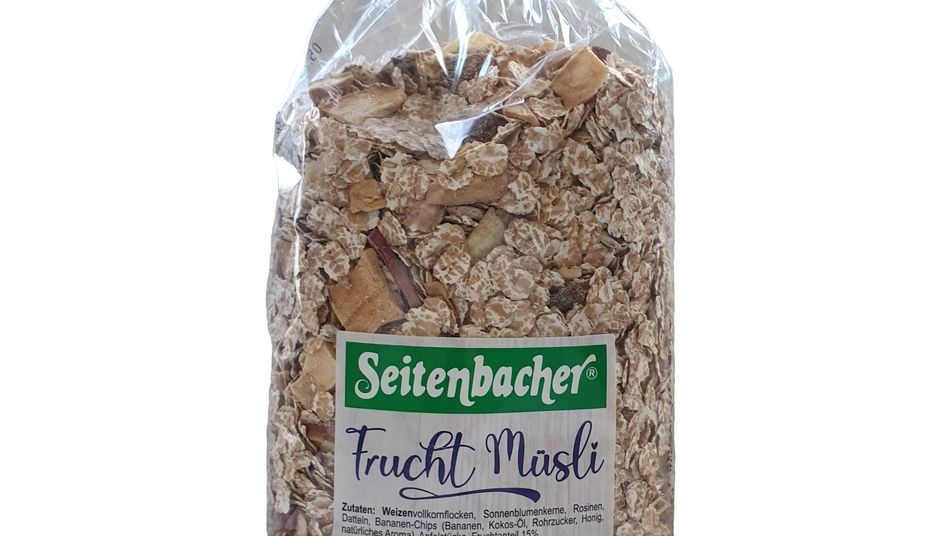 Fruchtmüsli von Seitenbacher