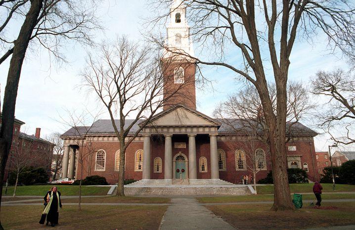Campus von Harvard: Bloß keine Aufruhr