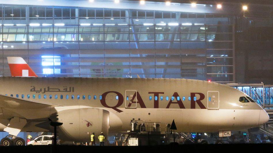 Dreamliner der Qatar Airways: Manager beschwert sich über Bsirske
