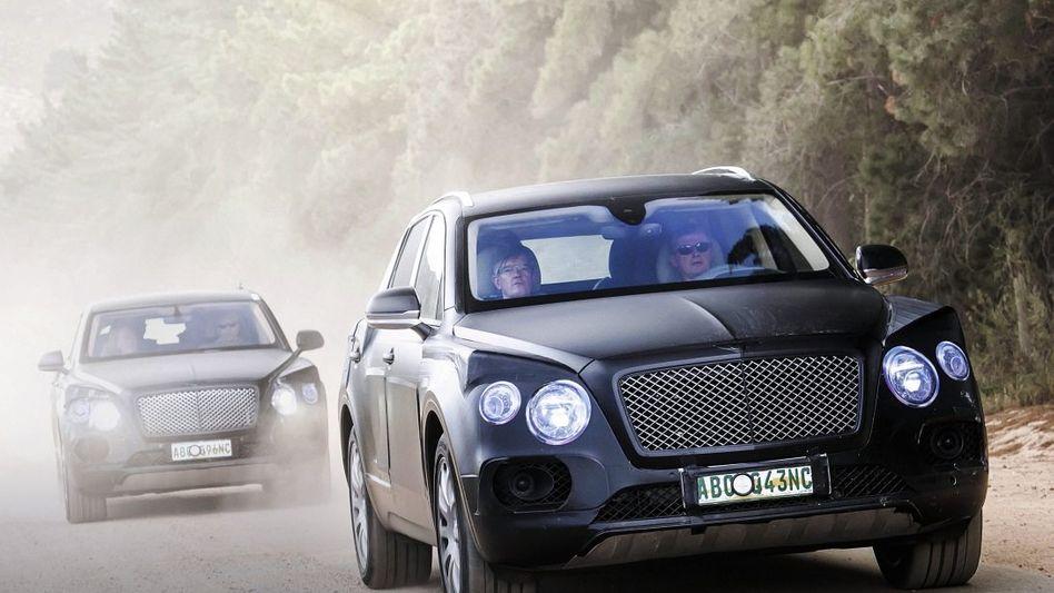 Bentley-Prototyp Bentayga: Neues Glück auf Abwegen