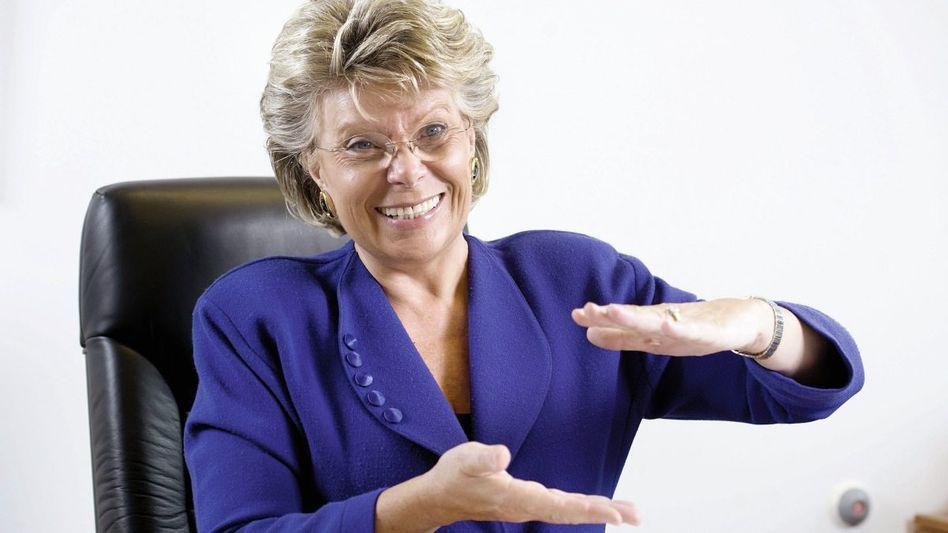 EU-Kommissarin Reding