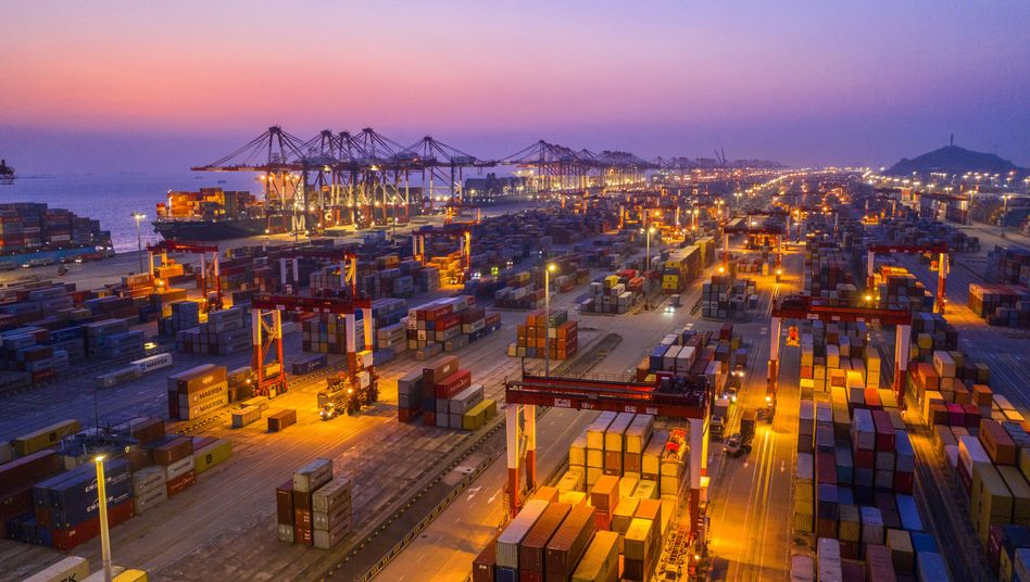 Containerhafen in Shanghai: Neue Zollrunde am Sonntag abgesagt