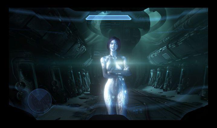 """Künstliche Intelligenz """"Cortana"""" (im Spiel """"Halo 4""""): """"Hey KI, ich mache Urlaub"""""""