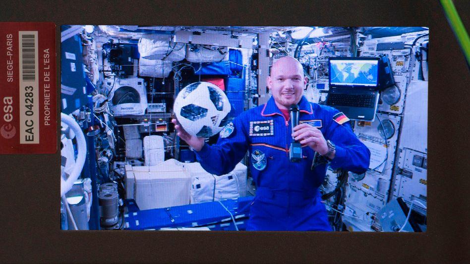 Alexander Gerst auf der Internationalen Raumstation