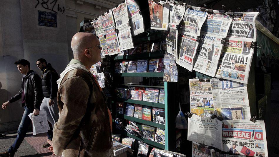 Griechische Zeitungen (am Tag nach der Wahl): Die Linken werden gefeiert