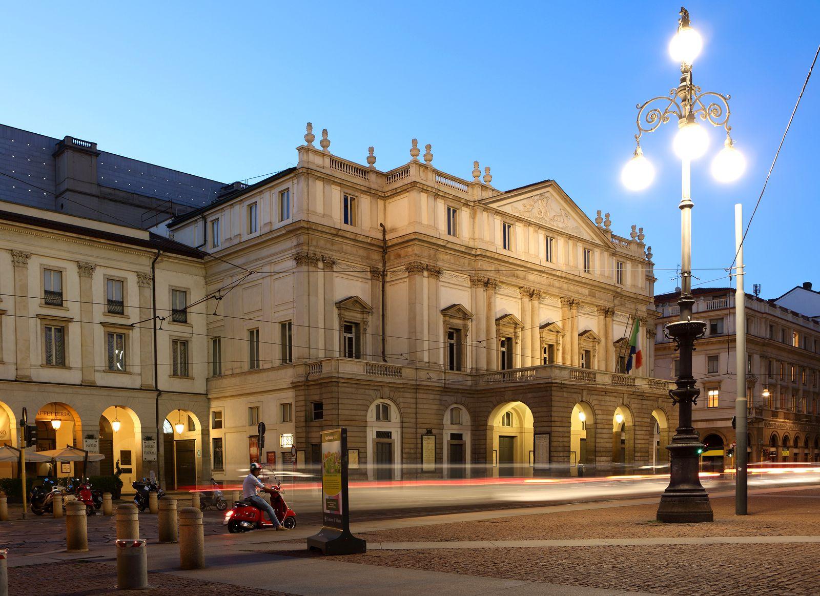 Italy, Lombardy, Milan, Teatro Alla Scala