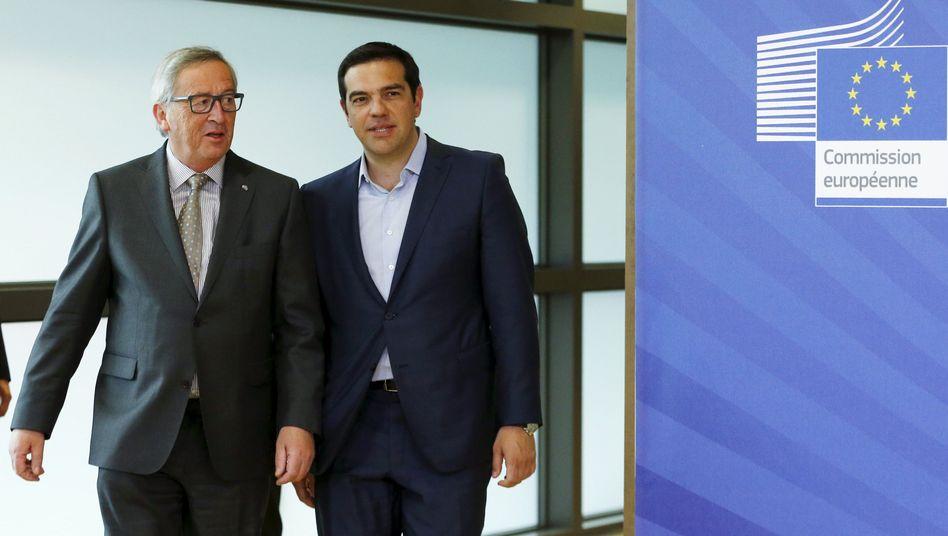 Juncker, Tsipras am 3. Juni in Brüssel: Wer spielt was?