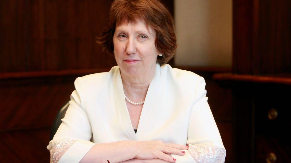 EU-Diplomatin Ashton: Unerwarteter Besuch bei Ex-Präsident Mursi
