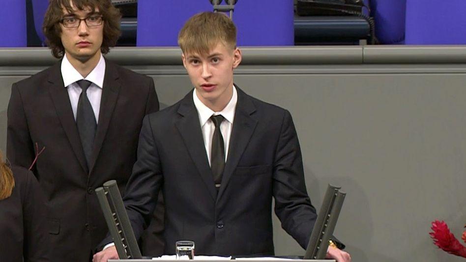 Nikolaj Desjatnitschenko im Bundestag