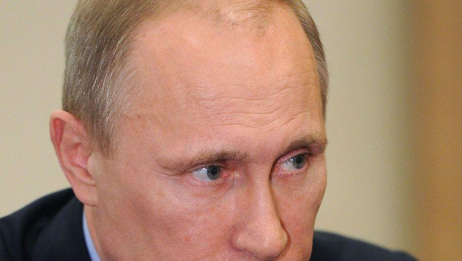 Russlands Präsident Putin: Deutschland muss ökonomische Risiken eingehen