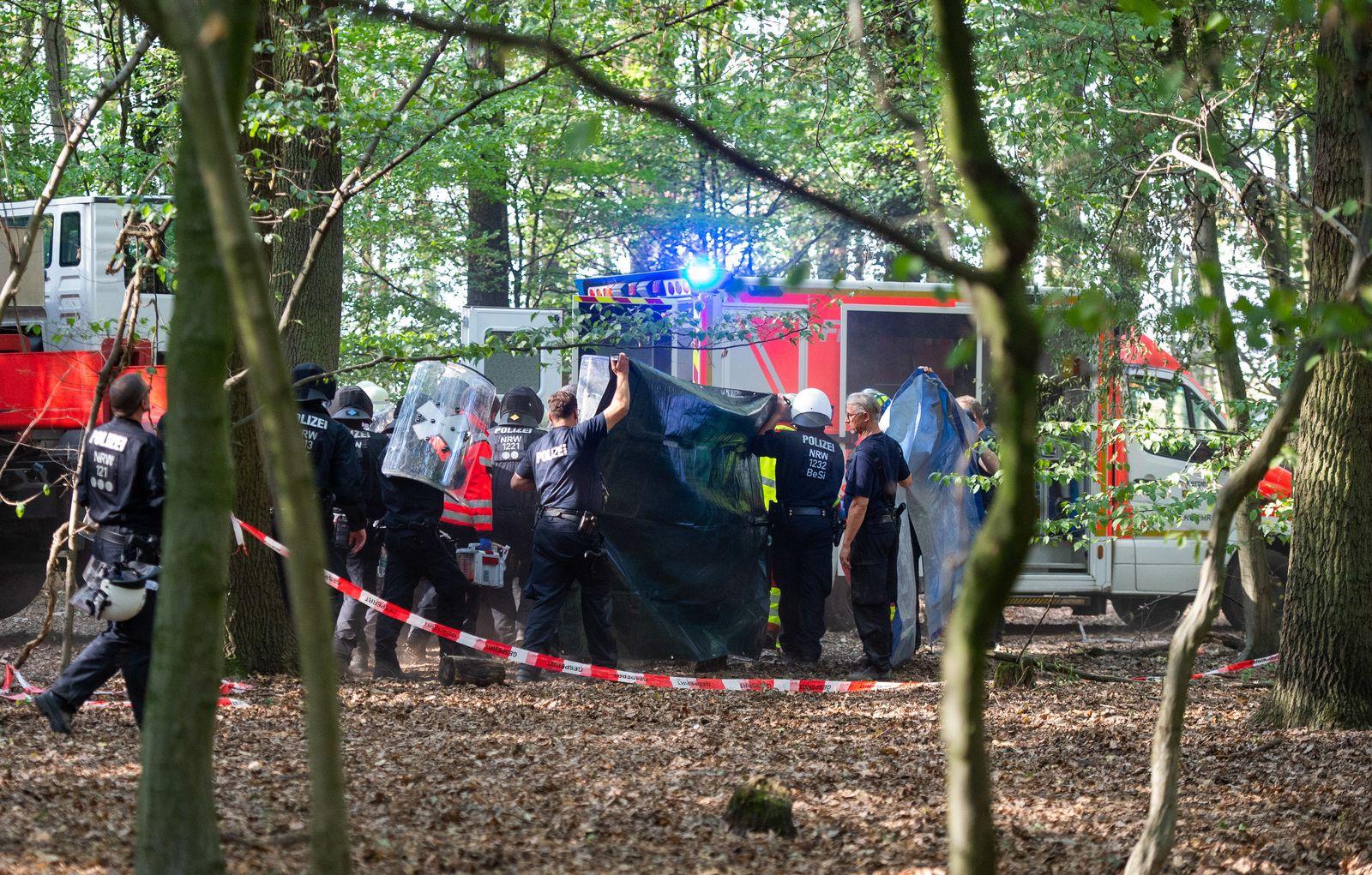 Tod von Journalist im Hambacher Forst
