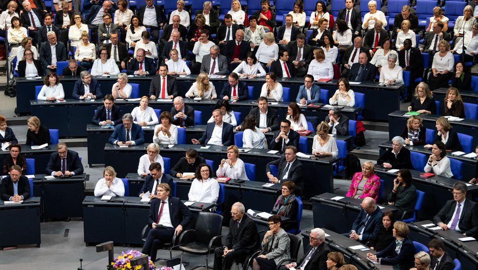Deutscher Bundestag am Donnerstag