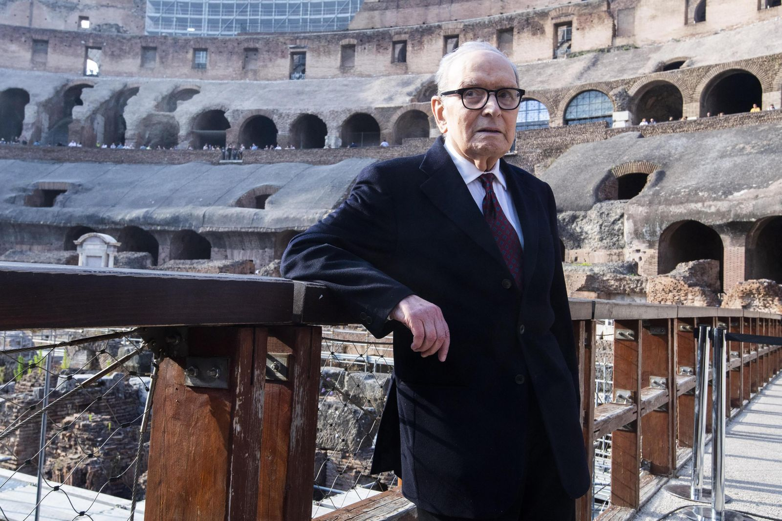 Ennio Morricone awarded in Rome