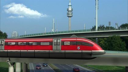 Wenn Träume wahr werden: Eine Studie des Transrapid auf einer Münchner S-Bahnstrecke
