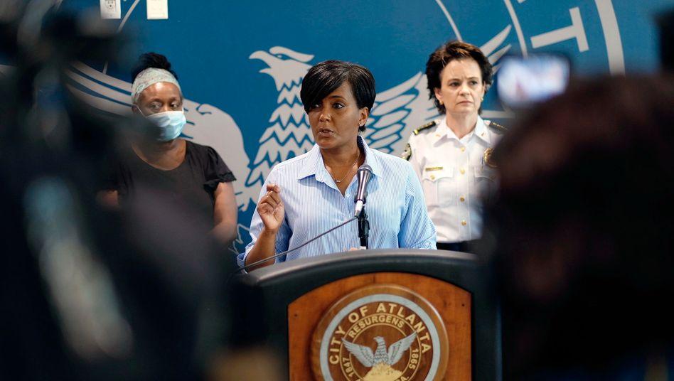 Trifft den richtigen Ton: Keisha Lance Bottoms, die Bürgermeisterin von Atlanta