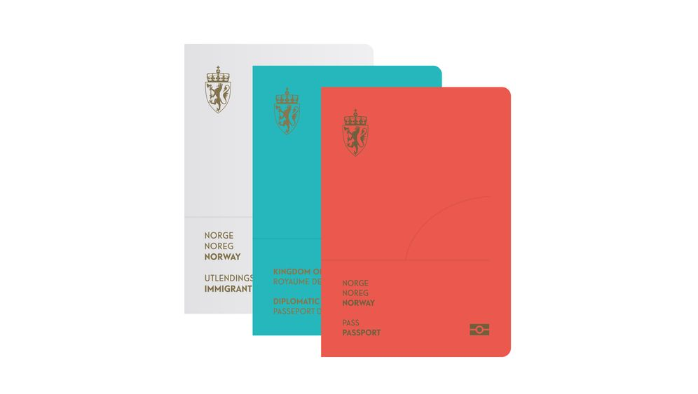 Stylisch: Norweger bekommen neuen Design-Pass