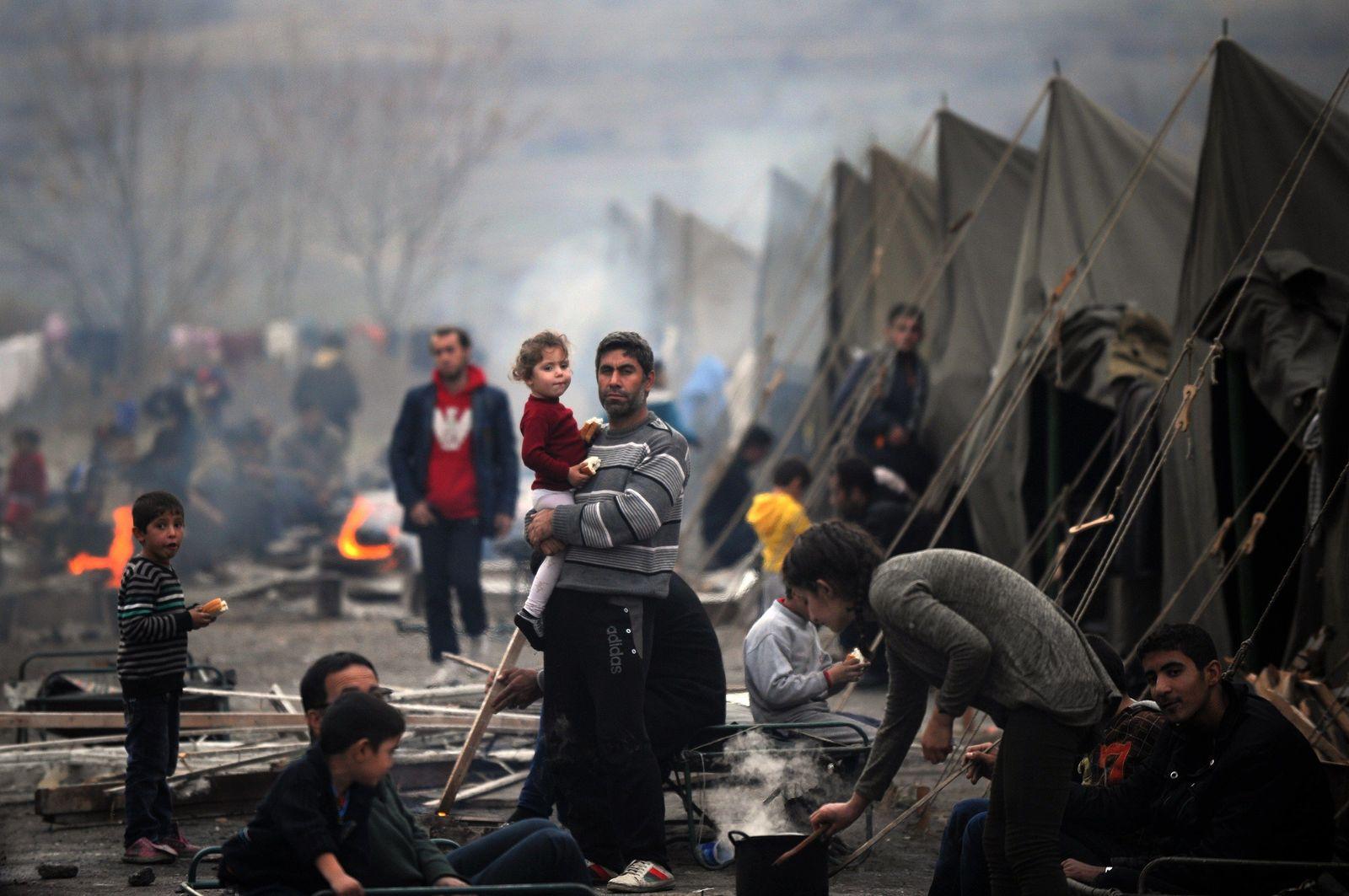 Bulgarien / Flüchtlingslager