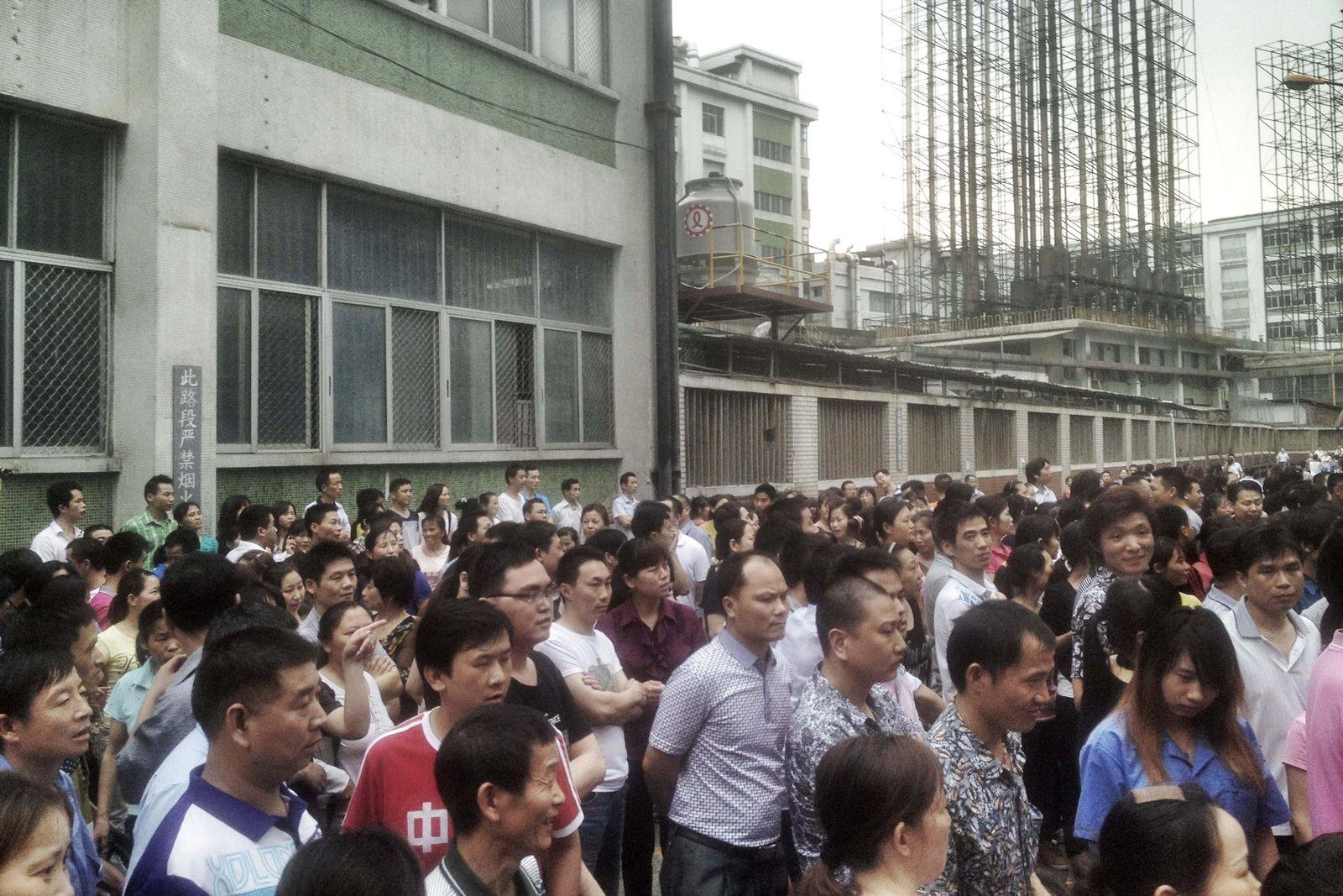 Streik China