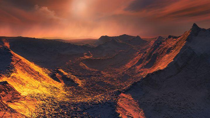 Barnards Stern b: Neu entdeckter Exoplanet