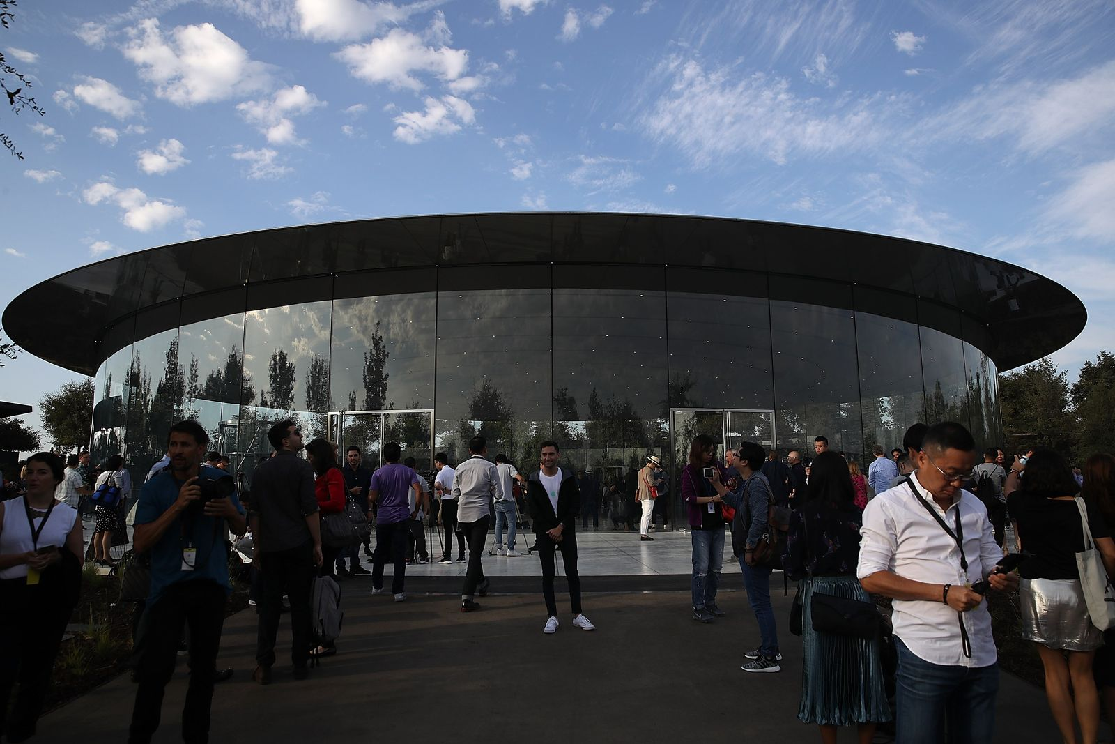 US-APPLE-HOLDS-PRODUCT-LAUNCH-EVENT-AT-NEW-CAMPUS-IN-CUPERTINO