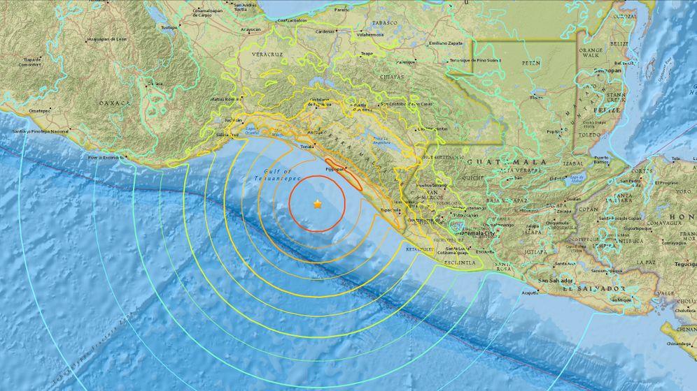 Erdbeben in Mexiko: Schwankender Boden, drohende Wellen