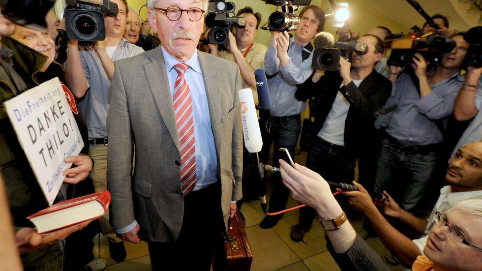 Thilo Sarrazin: Erklärung war ausschlaggebend für Rückzug der Ausschlussanträge
