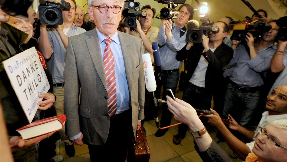 """Thilo Sarrazin (Archivbild) über Gauck: """"Ich bin sehr froh, dass es jetzt so kommen wird"""""""