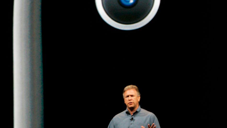 Kamera eines iPhone 3GS: Werden künftige Apple-Geräte mit Sony-Technik bestückt?