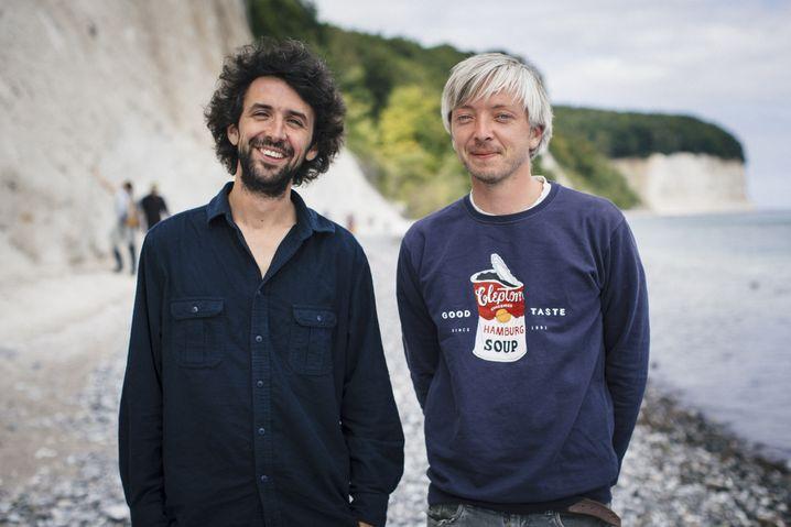 Reporter Raphael Thelen und Fotograf Thomas Victor
