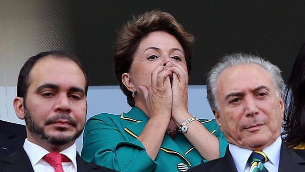 Brasiliens Präsidentin: Wahlkampf während der WM
