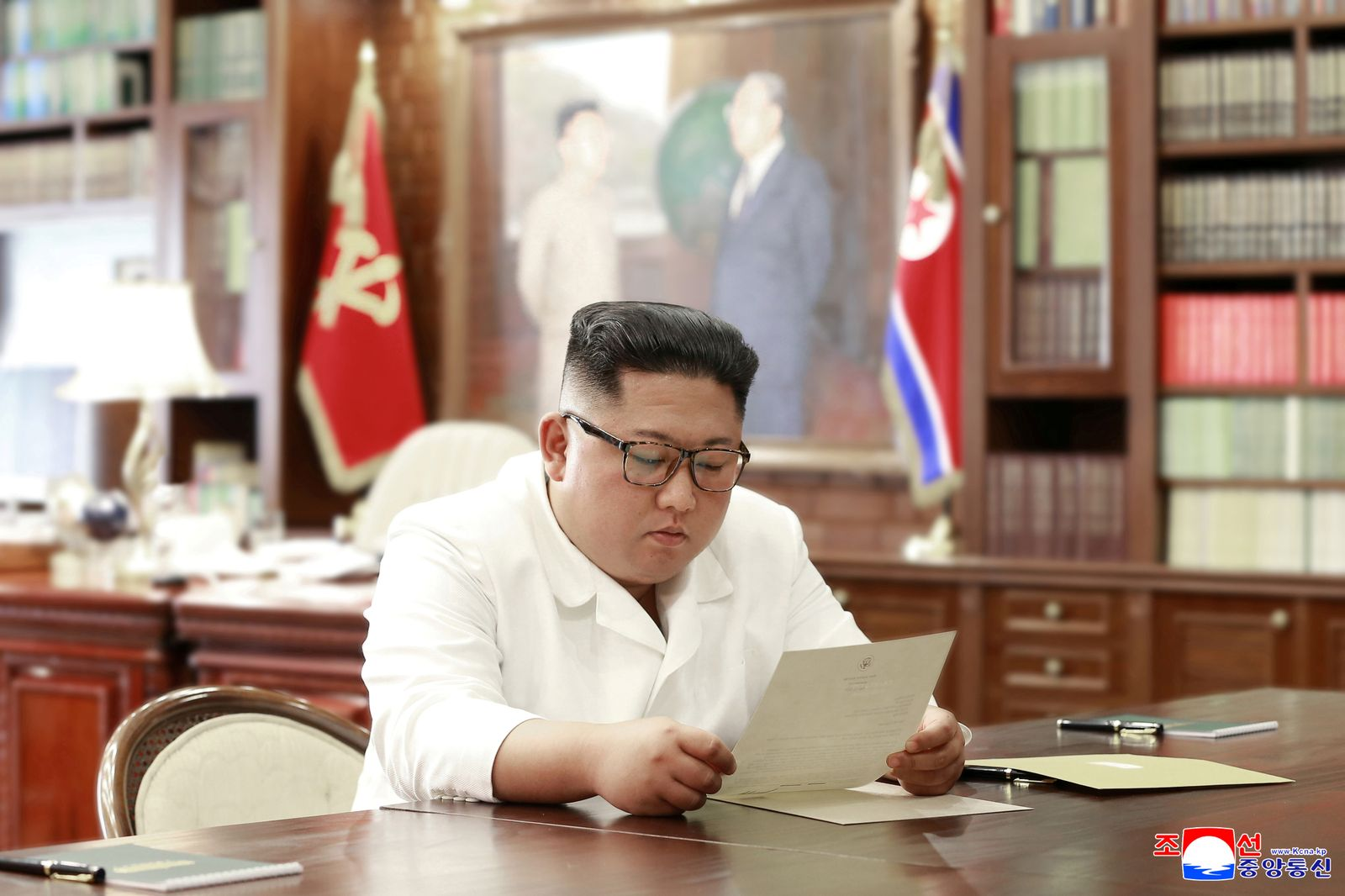 Kim Jong Un/ Donald Trump/ Brief