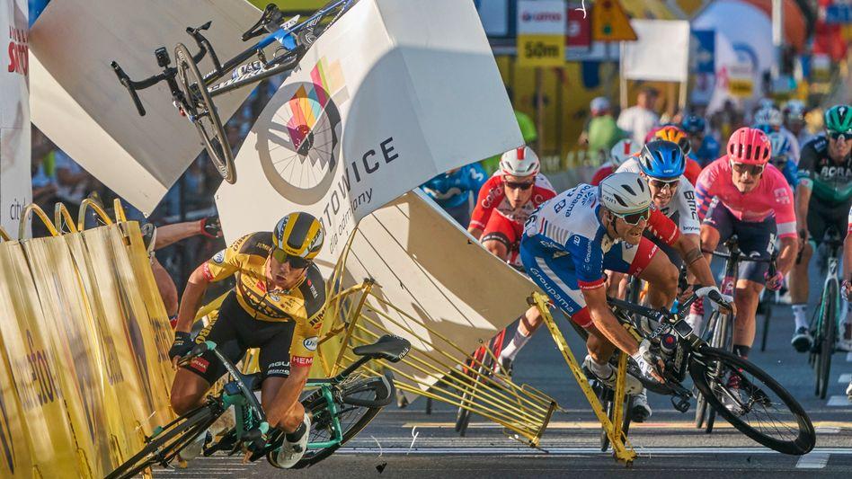 Crash bei der Polen-Rundfahrt