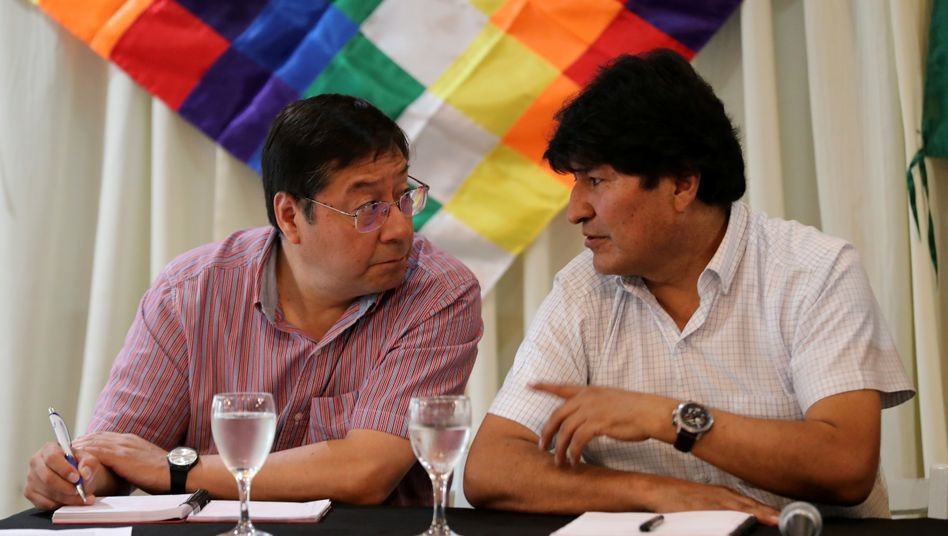 Wahlsieger Luis Arce, Mentor Evo Morales: Der Neue ist keine Marionette