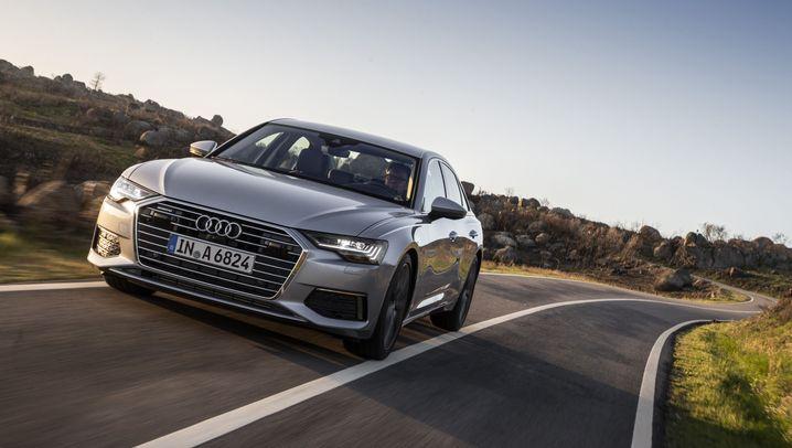 Autogramm Audi A6: Weite Leere