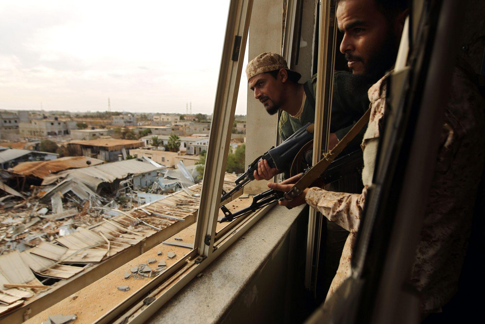 Libyen / Benghazi / Qawarsha