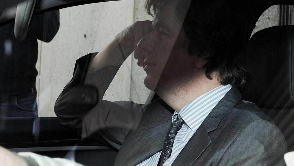 Moderator Kachelmann auf dem Weg zum Gericht: Wer führt die Regie?
