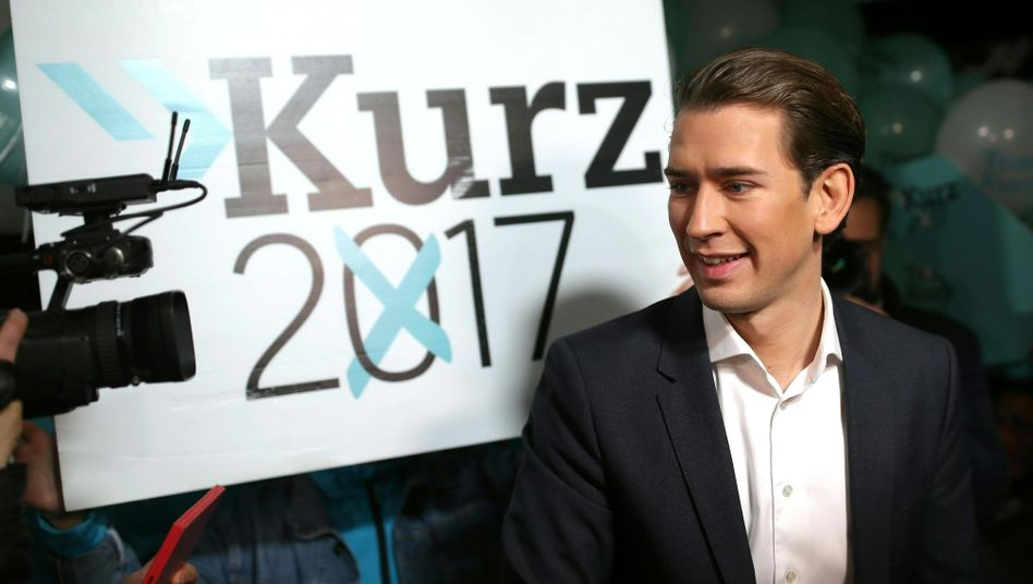 Österreichs Außenminister Sebastian Kurz