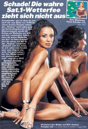 "Kempters Arbeitgeber: Falsch im ""Playboy"", falsch in der ""Bild"""