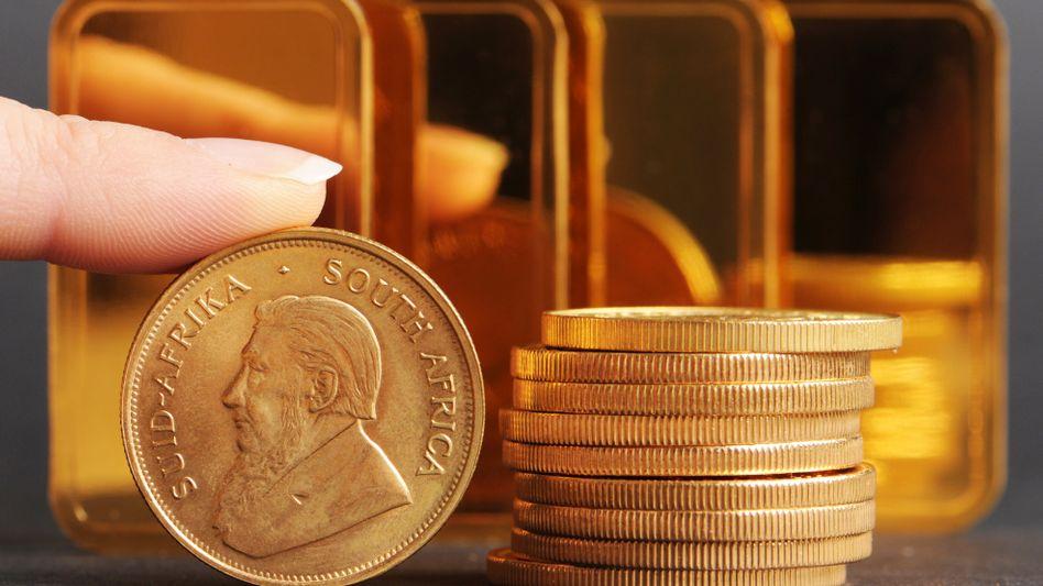 Krügerrandmünze: Offizielles Zahlungsmittel aus einer Feinunze Gold