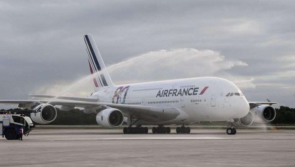 Nachrüsten erforderlich: Airbus hat Probleme mit seinem A380, dem größten Flugzeug in der Geschichte der zivilen Luftfahrt.