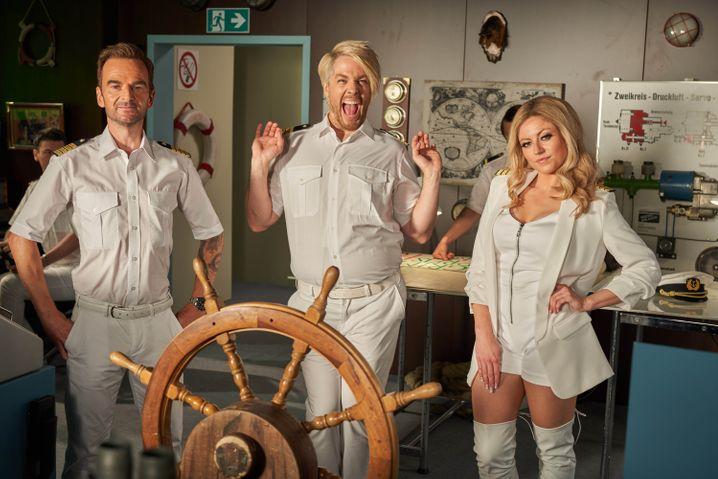 Florian Silbereisen, Ross Anthony und Helene Fischer sind auch schon an Bord: »Binge Reloaded«-Verlade vom »Traumschiff«