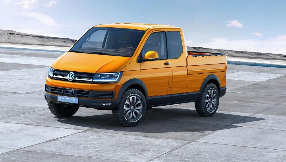 """Neuer VW-Bus: Weltpremiere für den """"Tristar"""""""