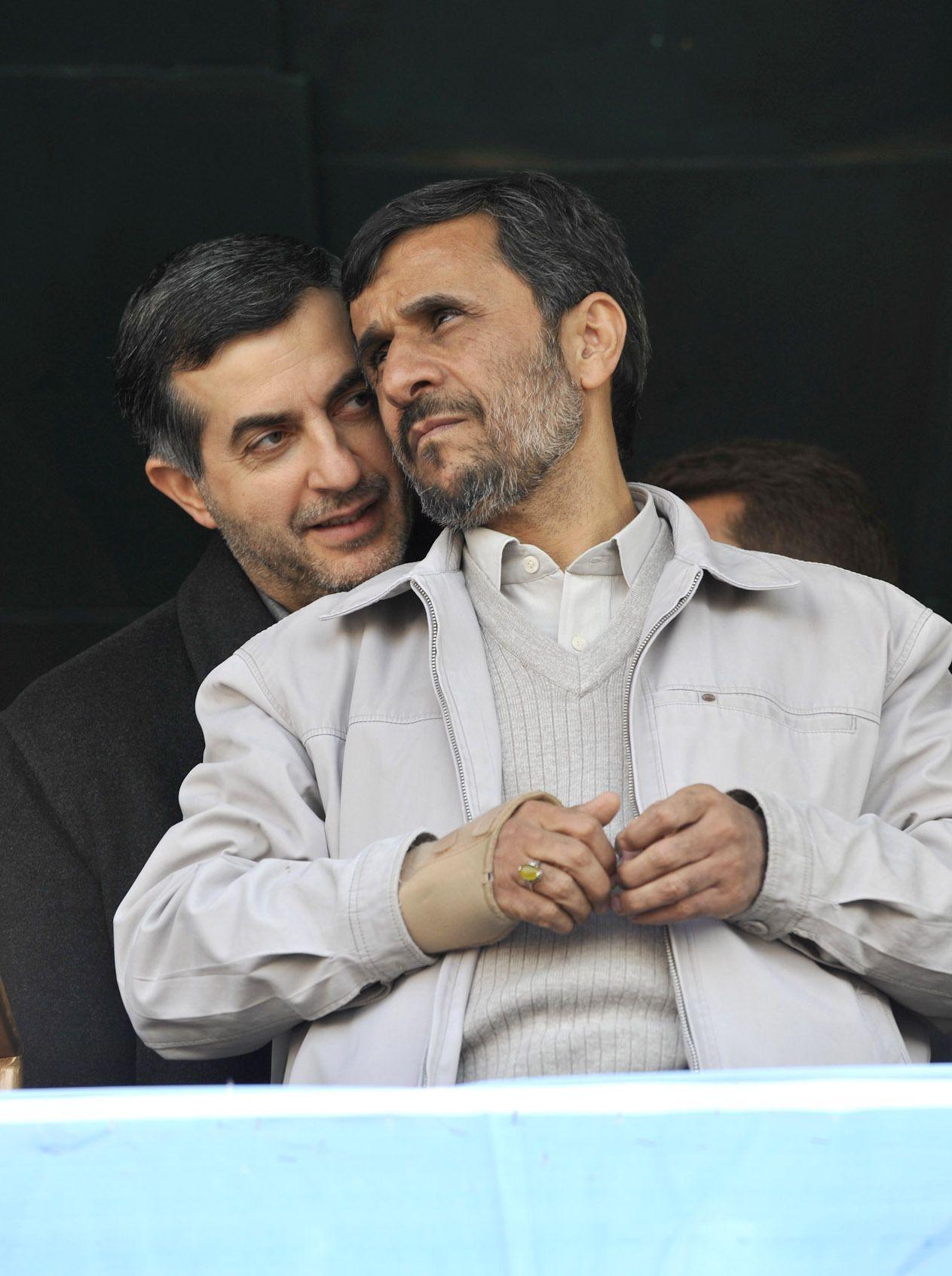 NICHT MEHR VERWENDEN! - Ahmadinedschad / Esfandiar Rahim Mashaei
