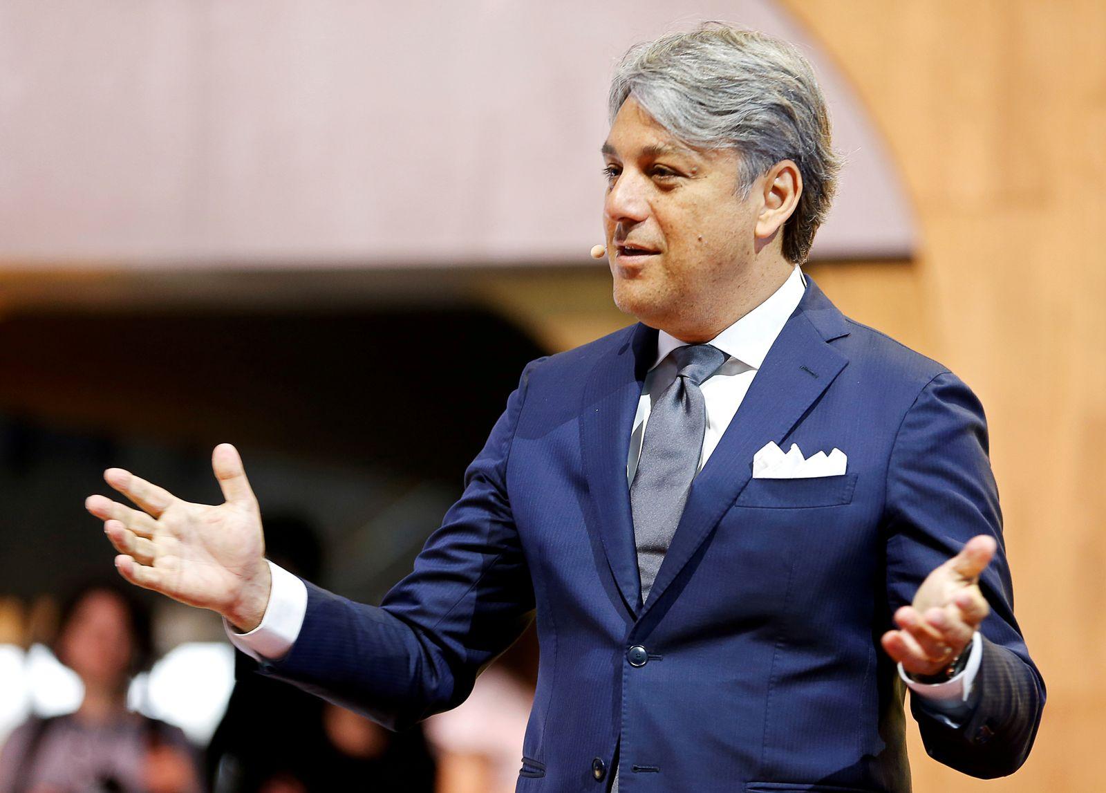 FILE PHOTO: Luca de Meo, former head of Volkswagen's Seat brand