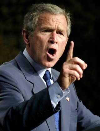 """George W. Bush: """"Die Menschen hassen ihn"""""""
