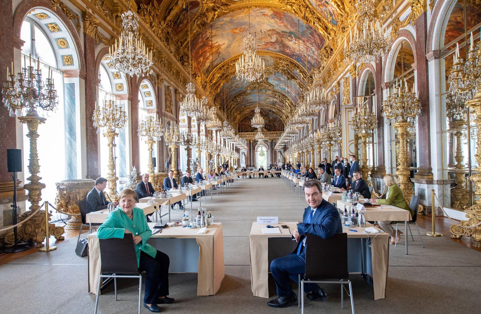 Bundeskanzlerin besucht Bayerisches Kabinett