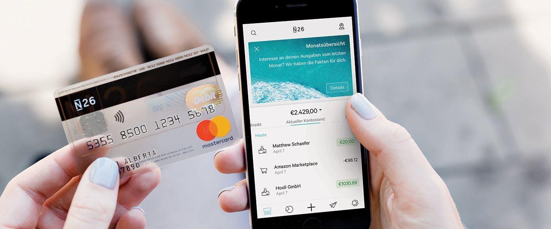 EINMALIGE VERWENDUNG Die mobile Bank N26