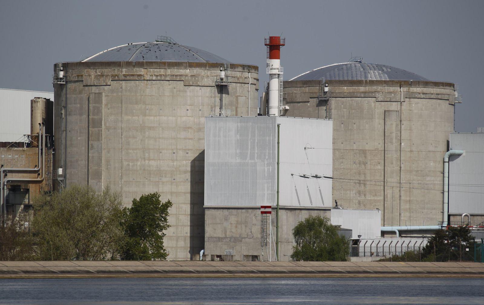 FRANCE/ Fessenheim AKW Atomkraft